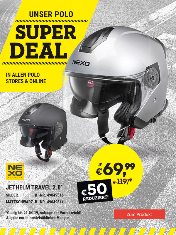 Super DEAL: NEXO Jethelm Travel 2.0 nur € 69,99