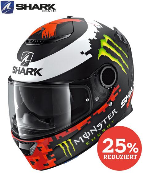 Shark helmets Spartan Replica Lorenzo Monster Mat 2018